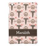 Pink RN Nurse Caduceus iPad Mini Covers