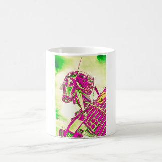 Pink Robot Coffee Mug