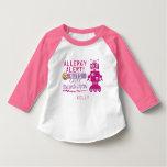 Pink Robot Nut Allergy Alert Shirt
