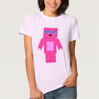 Pink Robot Tee Shirt