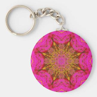 Pink Rock Hound Key chain