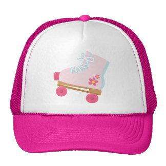 Pink Rollerskate Hat