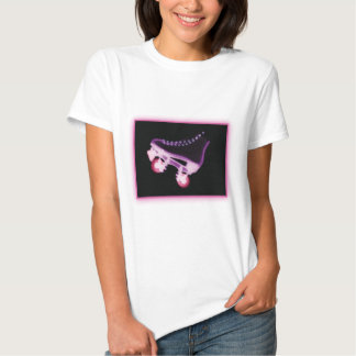 Pink Rollerskate Xray Tee Shirt
