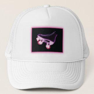Pink Rollerskate Xray Trucker Hat
