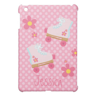 Pink Rollerskates  Cover For The iPad Mini