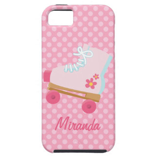 Pink Rollerskates iPhone Case iPhone 5 Cases