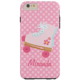 Pink Rollerskates iPhone Case Tough iPhone 6 Plus Case