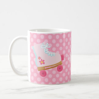 Pink Rollerskates Mug
