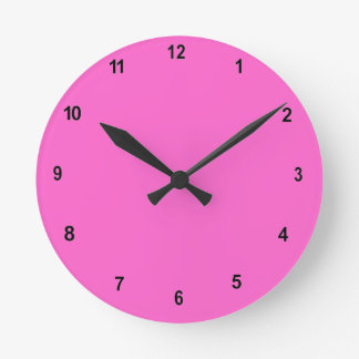 Pink Room Wall Clock