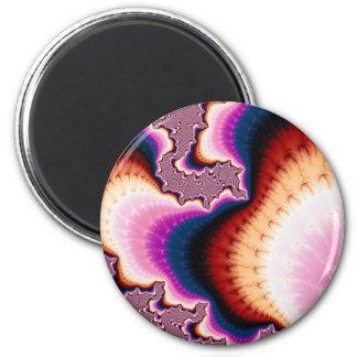 Pink Roots - Fractal Magnet