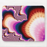 Pink Roots - Fractal Mousepad