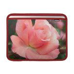 """Pink Rose 13"""" MacBook Sleeve"""