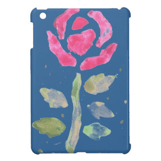 Pink Rose 2 (Watercolor by Kim Turnbull Art) iPad Mini Cases