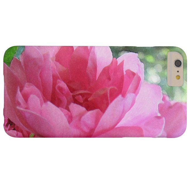 Pink Rose Abstract iPhone 6 Plus Case