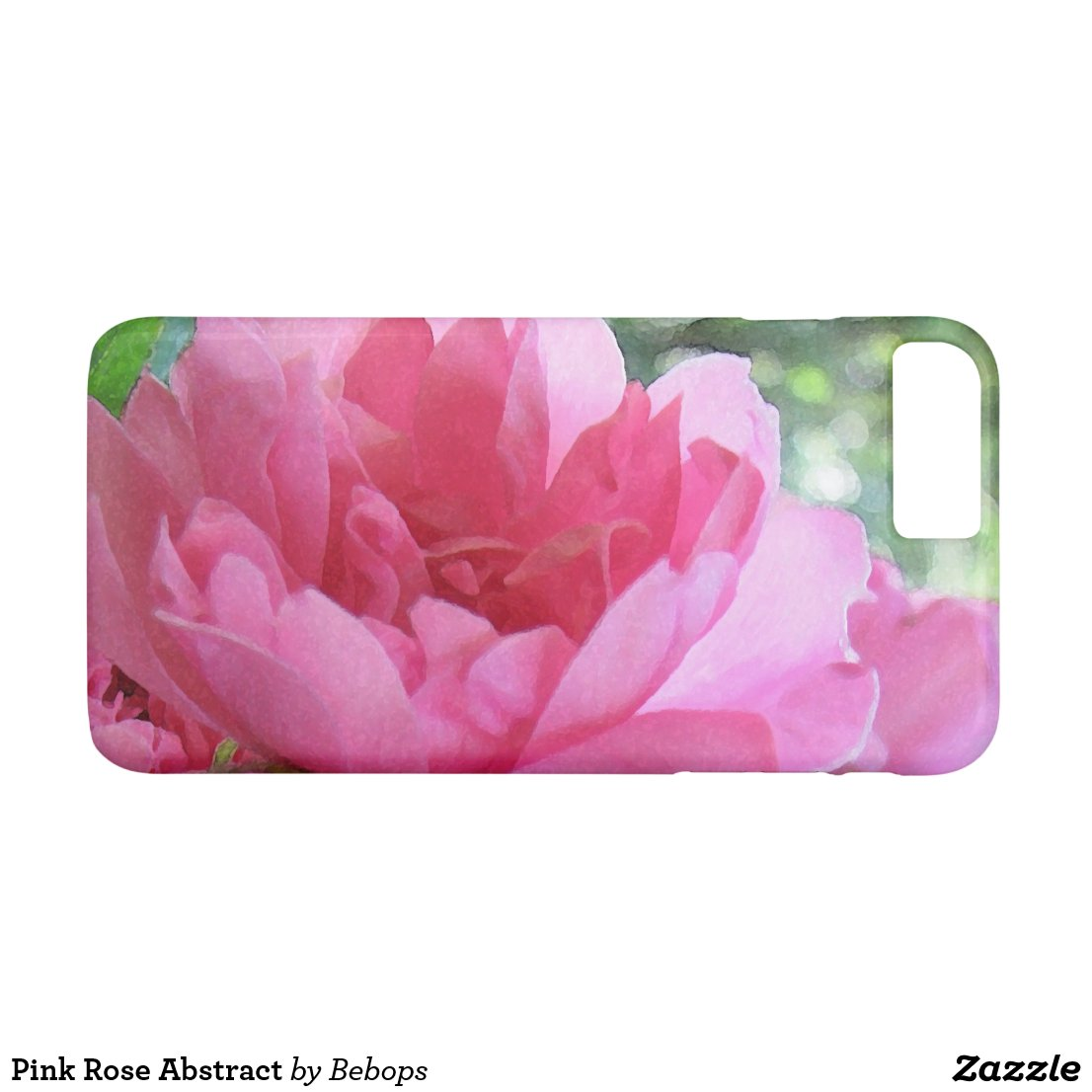 Pink Rose Abstract iPhone 7 Plus Case