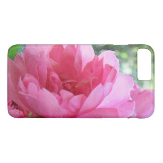 Pink Rose Abstract iPhone 8 Plus/7 Plus Case