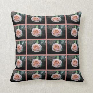 Pink Rose American MoJo Pillow