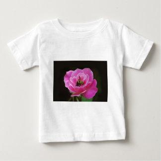 Pink Rose and bumble bee Tee Shirt