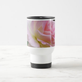Pink rose and meaning 15 oz stainless steel travel mug