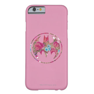 Pink Rose Bat Signal Barely There iPhone 6 Case
