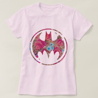 Pink Rose Bat Signal T-shirt