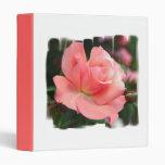 Pink Rose Binder