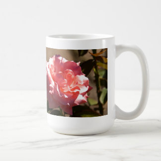 Pink Rose Blossom Classic White Coffee Mug
