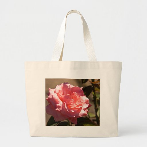 Pink Rose Blossom Jumbo Tote Bag