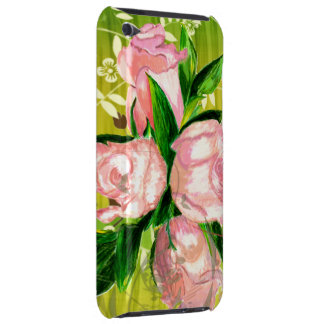 Pink Rose Bouquet iPod Touch Barely There Case-Mat Case-Mate iPod Touch Case
