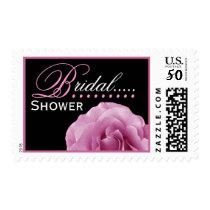 PINK Rose - Bridal Shower Stamp