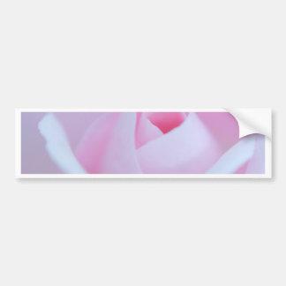 Pink Rose bud created by Tutti Car Bumper Sticker