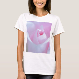 Pink Rose bud created by Tutti T-Shirt
