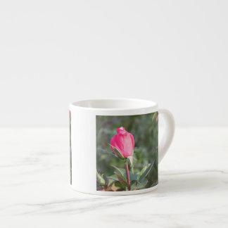 Pink Rose Bud Espresso Cup