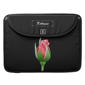 Pink rose bud sleeves for MacBooks