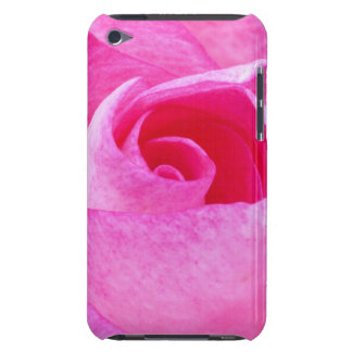 Pink Rose Barely There iPod Case