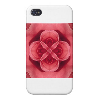 Pink Rose Cases For iPhone 4