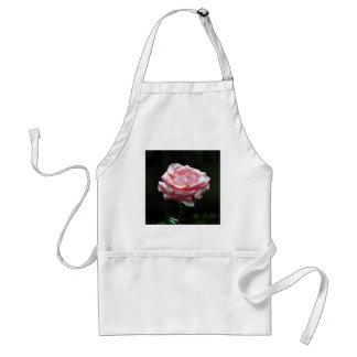 Pink Rose Close-up Adult Apron