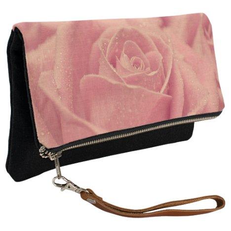 Pink Rose Clutch
