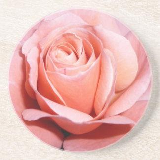 Pink Rose - Coaster / Untersetzer