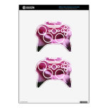 """""""Pink Rose""""  Collection Xbox 360 Controller Skins"""