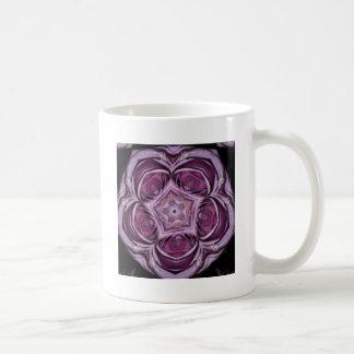 Pink Rose Contours Jan 2013 Coffee Mugs