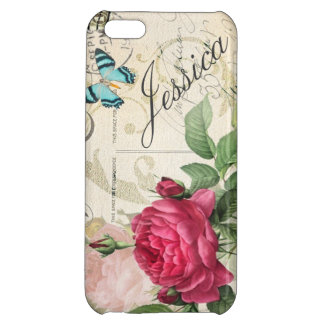 Pink Rose Customizable Case For iPhone 5C