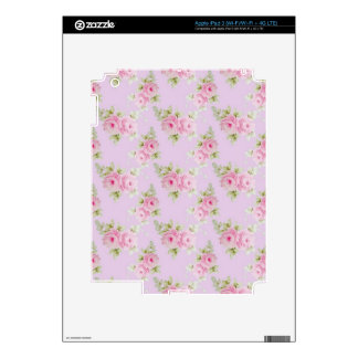 Pink Rose Decal For iPad 3