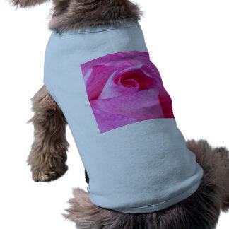 Pink Rose Doggie Tshirt