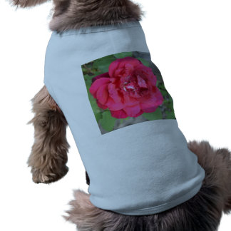 Pink Rose Pet Tee Shirt