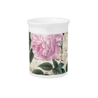 Pink Rose Dreamy Drink Pitchers
