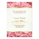 Pink Rose Elegance - Shower 5x7 Paper Invitation Card