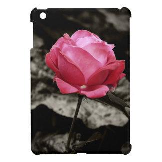 Pink Rose floral iPad Mini Case
