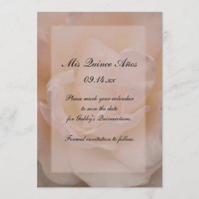 quinceanera sweet 15 invitation save the date zazzlecom