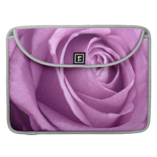 Pink Rose Flower Close-Up Photo Sleeve For MacBook Pro